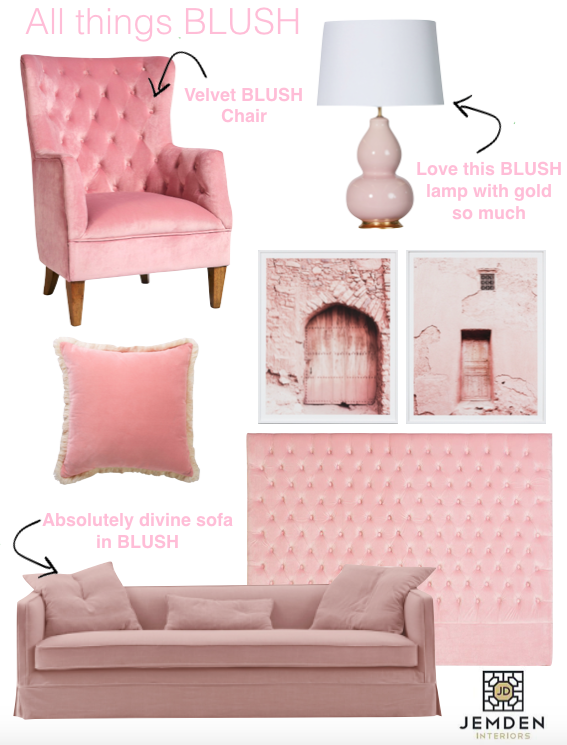 Andes favourite things - all things blush