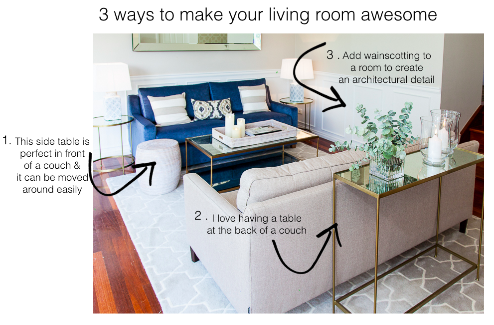 3 ways to make your living room awesome for Build your living room