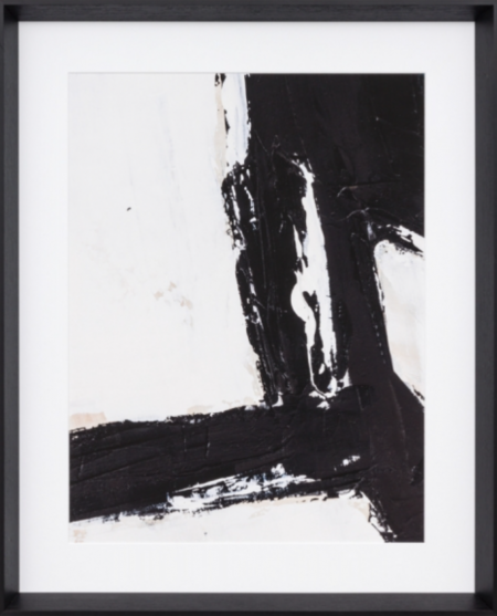 Abstract Print in Black & White