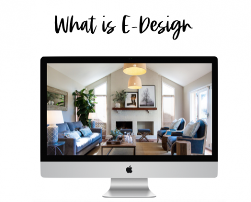 What is e design, online design
